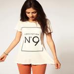 Как носить футболку с номером и надписью: правила сочетания