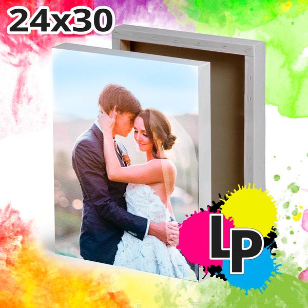 Создать холст 24x30 со своим фото или дизайном от lastprint.ru