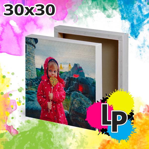 Создать холст 30x30 со своим фото или дизайном от lastprint.ru