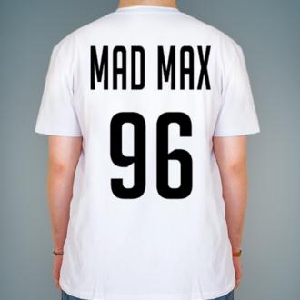 Создать именную футболку с надписью и номером