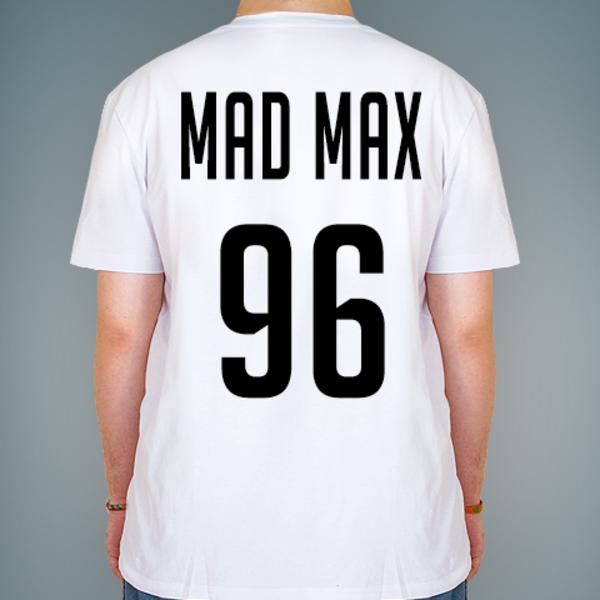 Создать именную футболку с надписью и номером от lastprint.ru