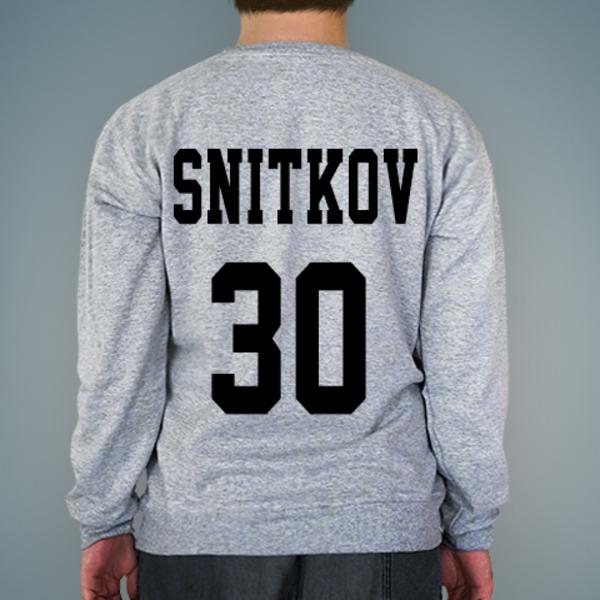 Создать именной свитшот с надписью и номером от lastprint.ru