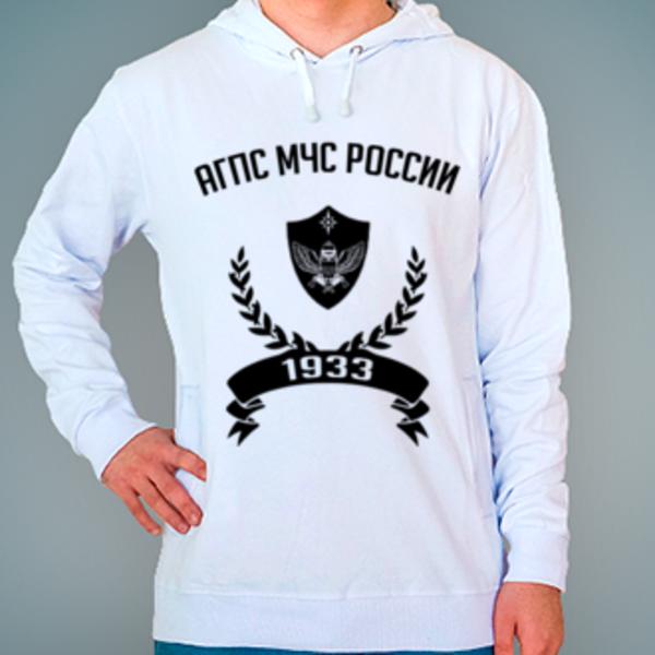 Толстовка с логотипом Академия государственной противопожарной службы МЧС России (АГПС МЧС России)