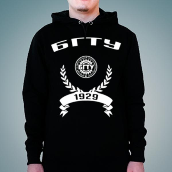 Толстовка с логотипом Брянский государственный технический университет (БГТУ)