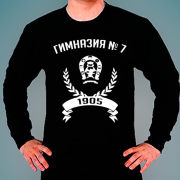 Свитшот с логотипом Гимназия № 7 им. Героя России С. В. Василёва (Гимназия № 7)