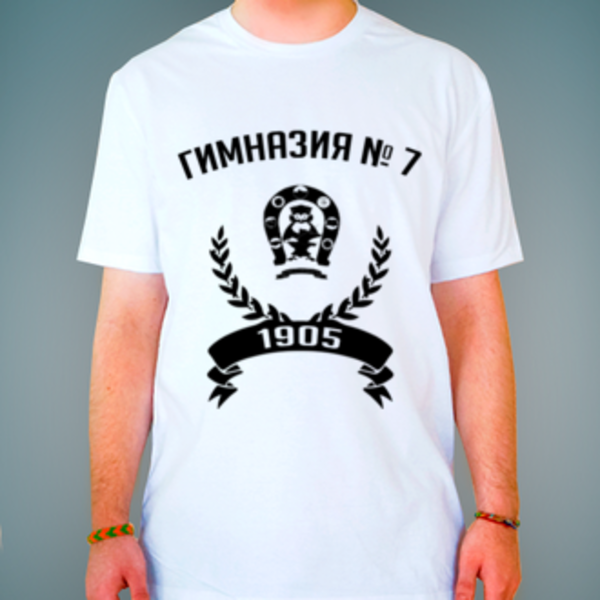 Футболка с логотипом Гимназия № 7 им. Героя России С. В. Василёва (Гимназия № 7)