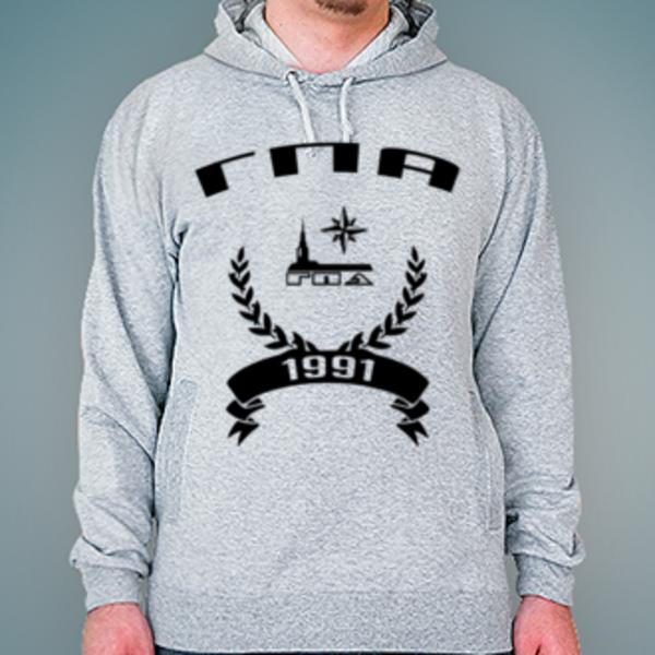Толстовка с логотипом Государственная полярная академия (ГПА)