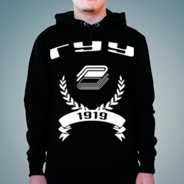 Толстовка с логотипом Государственный университет управления (ГУУ)