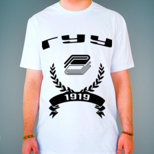 Футболка с логотипом Государственный университет управления (ГУУ)