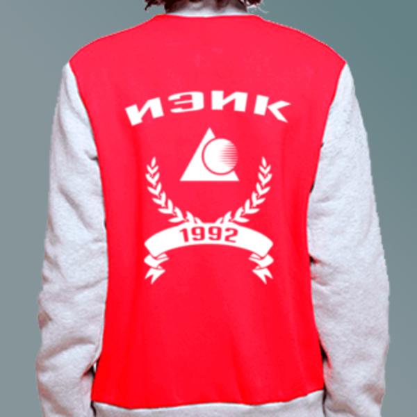 Бомбер с логотипом Институт экономики и культуры (ИЭиК)