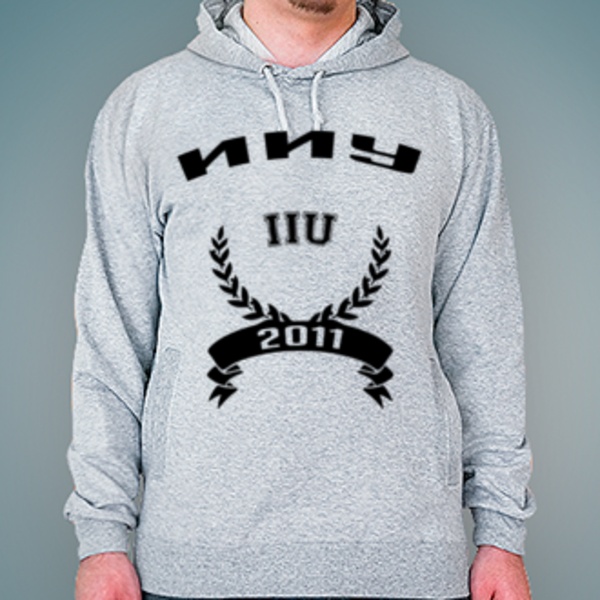 Толстовка с логотипом Ижевский институт управления (ИИУ)