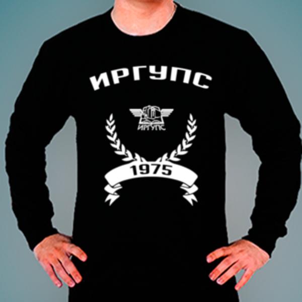 Свитшот с логотипом Иркутский государственный университет путей сообщения (ИРГУПС)