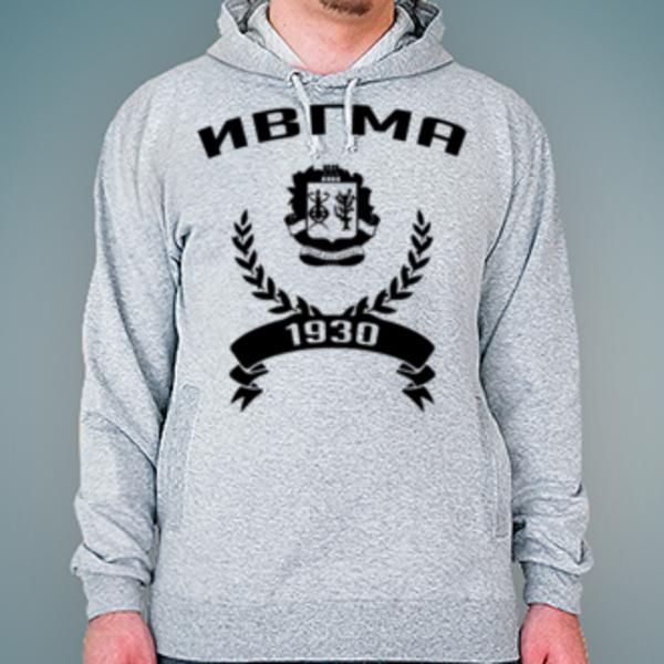 Толстовка с логотипом Ивановская государственная медицинская академия (ИвГМА)