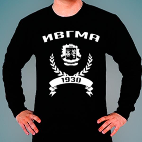 Свитшот с логотипом Ивановская государственная медицинская академия (ИвГМА)