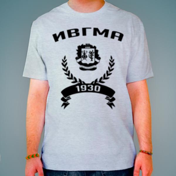 Футболка с логотипом Ивановская государственная медицинская академия (ИвГМА)