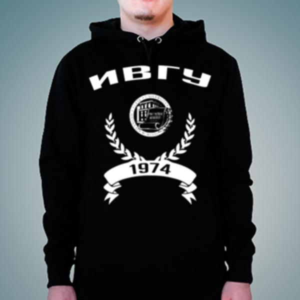 Толстовка с логотипом Ивановский государственный университет (ИвГУ)