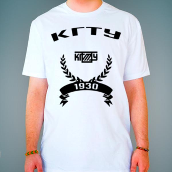 Футболка с логотипом Костромской государственный технологический университет (КГТУ)