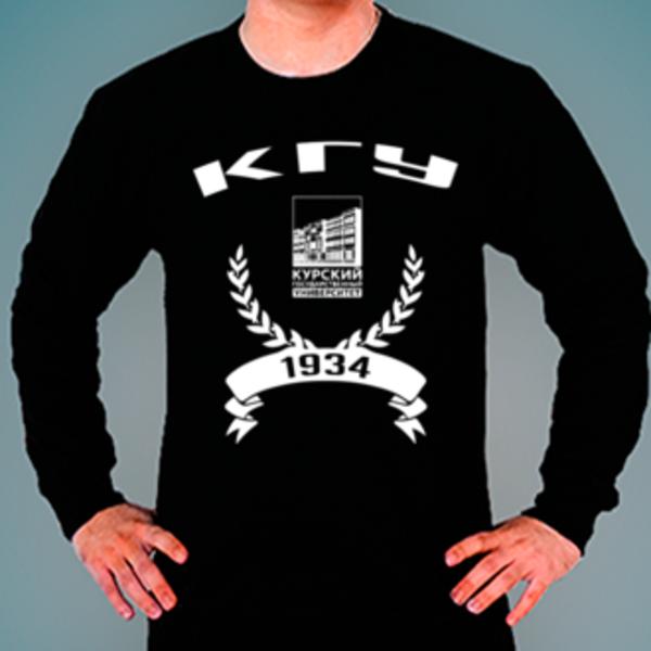 Свитшот с логотипом Курский государственный университет (КГУ)