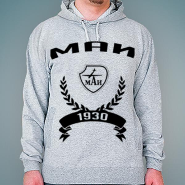 Толстовка с логотипом Московский авиационный институт (МАИ)