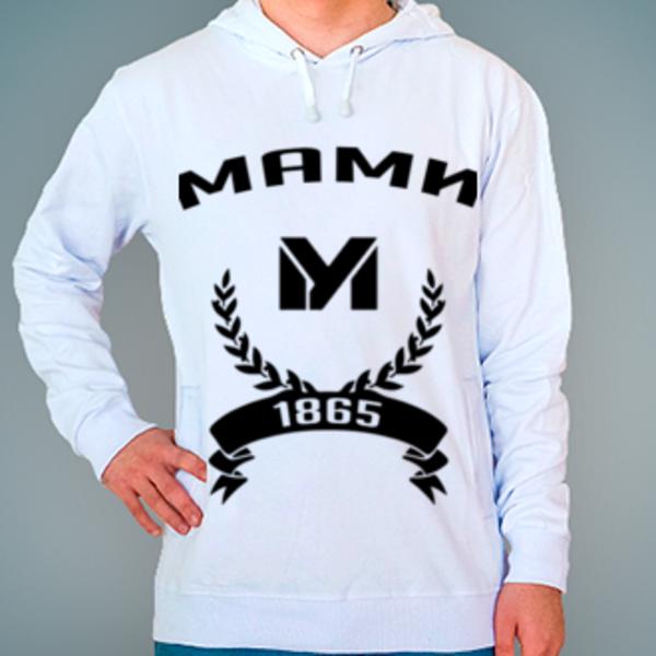 Толстовка с логотипом Московский государственный машиностроительный университет (МАМИ)