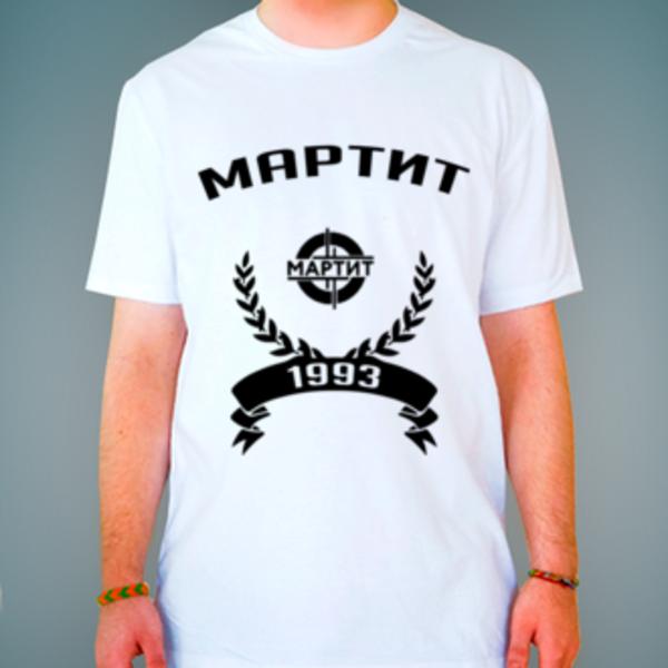 Футболка с логотипом Московская академия рынка труда иинформационных технологий (МАРТИТ)