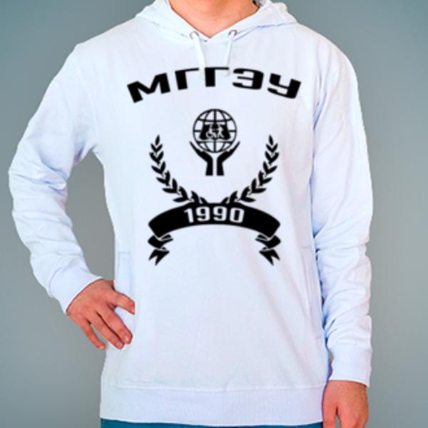 Толстовка с логотипом Московский государственный гуманитарно-экономический университет (МГГЭУ)