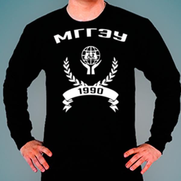 Свитшот с логотипом Московский государственный гуманитарно-экономический университет (МГГЭУ)