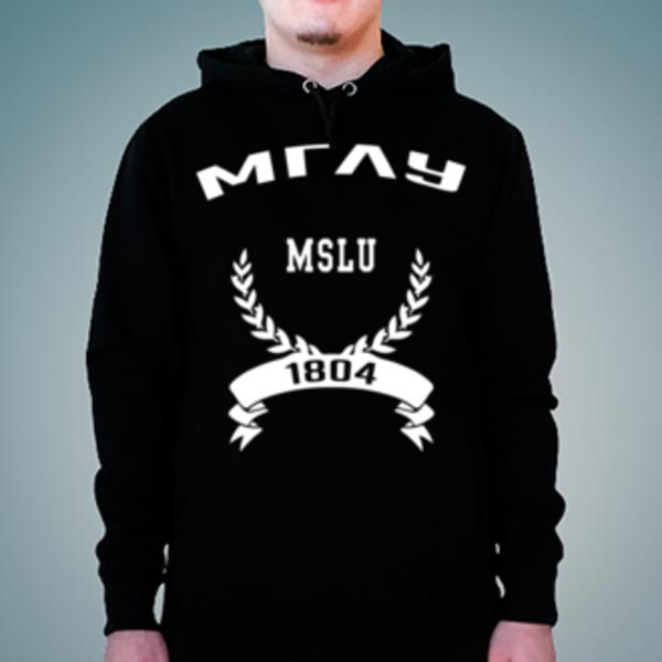 Толстовка с логотипом Московский государственный лингвистический университет (МГЛУ)