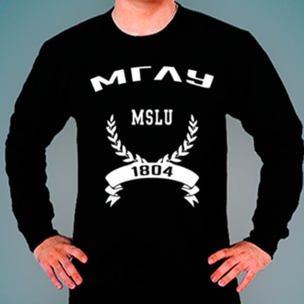 Свитшот с логотипом Московский государственный лингвистический университет (МГЛУ)
