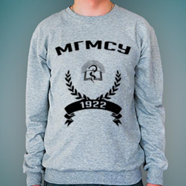 Свитшот с логотипом Московский государственный медико-стоматологический университет (МГМСУ)