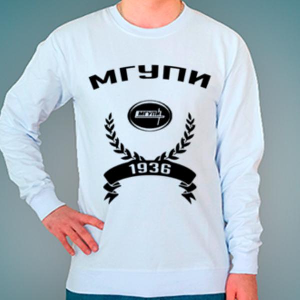 Свитшот с логотипом Московский государственный университет приборостроения и информатики (МГУПИ)