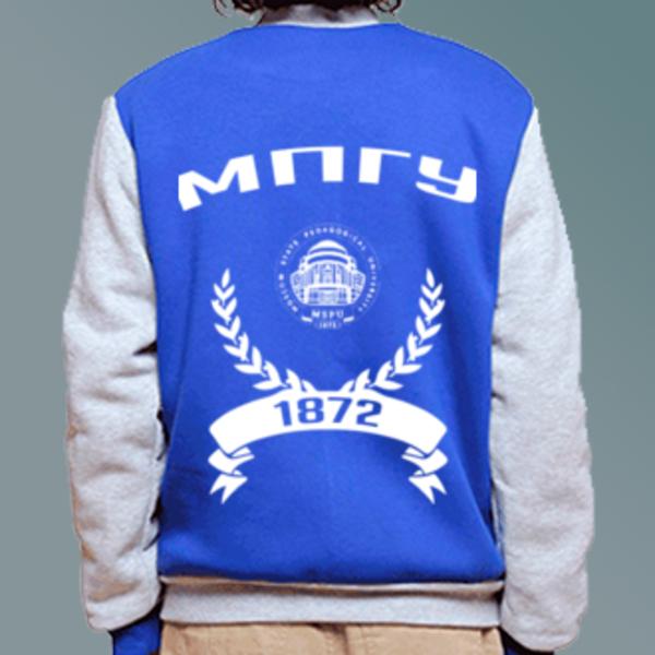 Бомбер с логотипом Московский педагогический государственный университет (МПГУ)