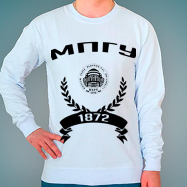 Свитшот с логотипом Московский педагогический государственный университет (МПГУ)