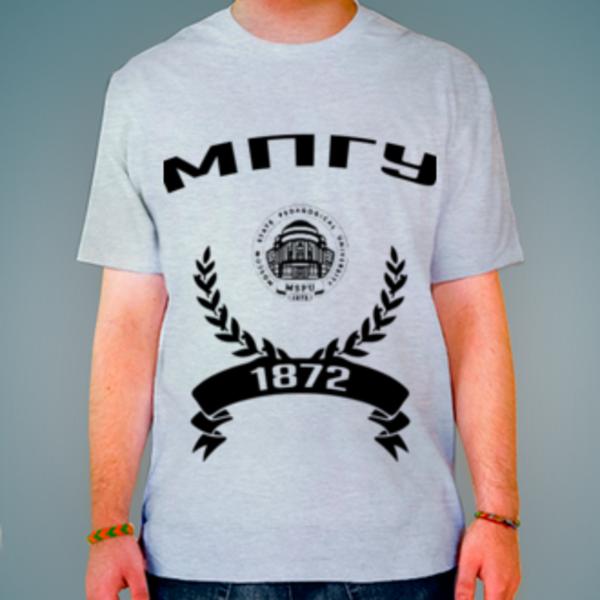 Футболка с логотипом Московский педагогический государственный университет (МПГУ)