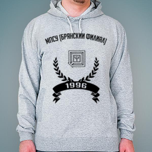 Толстовка с логотипом Брянский филиал Московского психолого-социального университета (МПСУ (Брянский филиал))