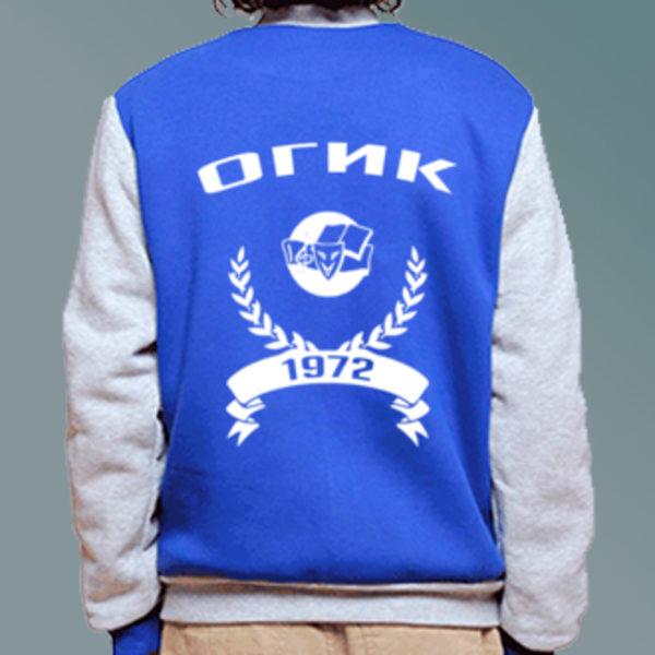 Бомбер с логотипом Орловский государственный институт искусств и культуры (ОГИК)