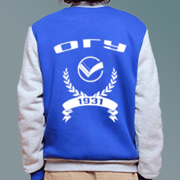 Бомбер с логотипом Орловский государственный университет (ОГУ)
