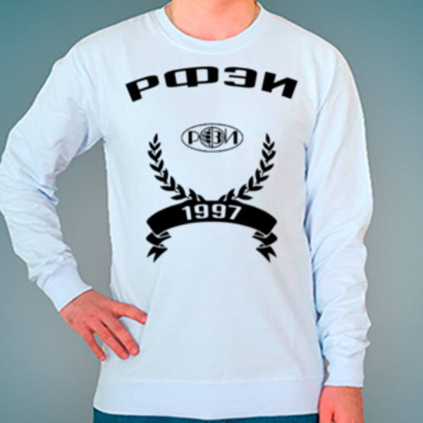 Свитшот с логотипом Региональный финансово-экономический институт (РФЭИ)