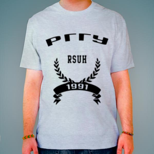 Футболка с логотипом Российский государственный гуманитарный университет (РГГУ)