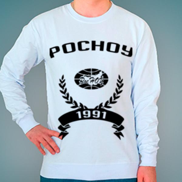 Свитшот с логотипом Российский новый университет (РосНОУ)