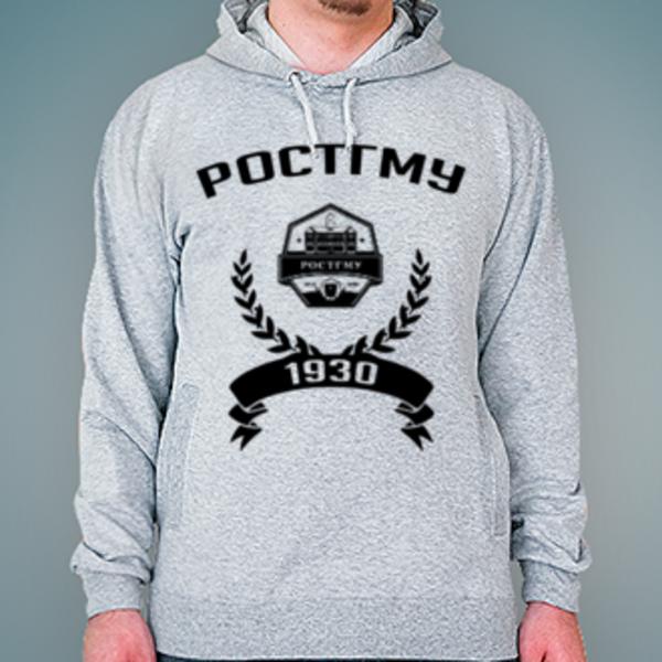 Толстовка с логотипом Ростовский государственный медицинский университет (РостГМУ)