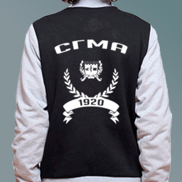 Бомбер с логотипом Смоленская государственная медицинская академия (СГМА)