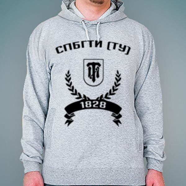 Толстовка с логотипом Санкт-Петербургский государственный технологический институт (технический университет) (СПбГТИ (ТУ))