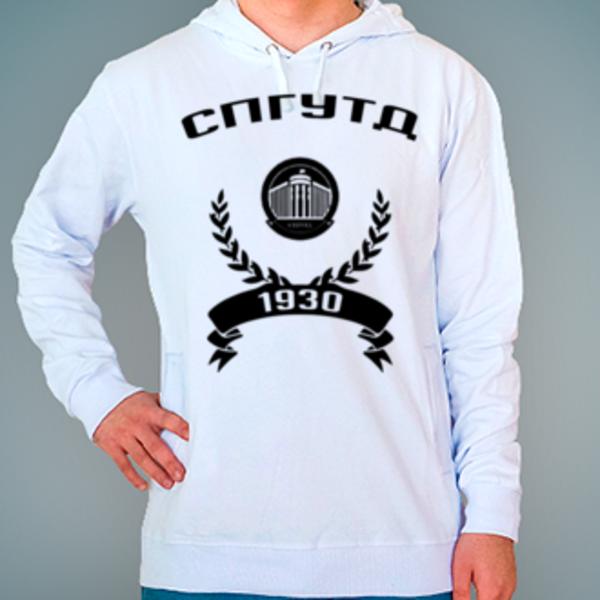 Толстовка с логотипом Санкт-Петербургский государственный университет технологии и дизайна (СПГУТД)