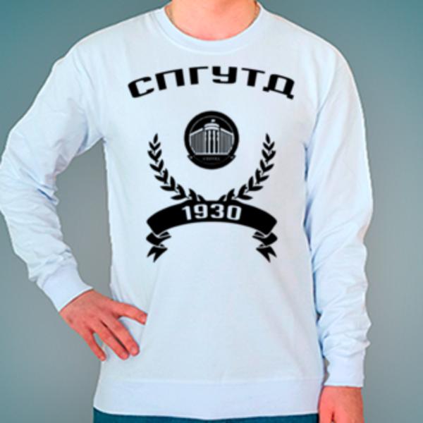 Свитшот с логотипом Санкт-Петербургский государственный университет технологии и дизайна (СПГУТД)