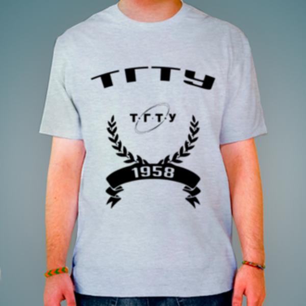 Футболка с логотипом Тамбовский государственный технический университет (ТГТУ)