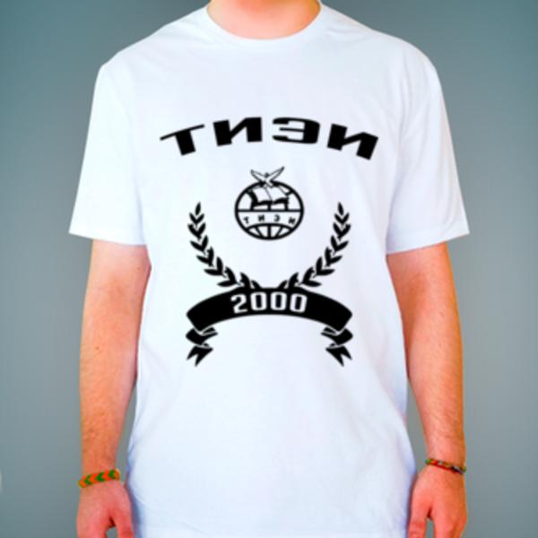 Футболка с логотипом Тульский институт экономики и информатики (ТИЭИ)