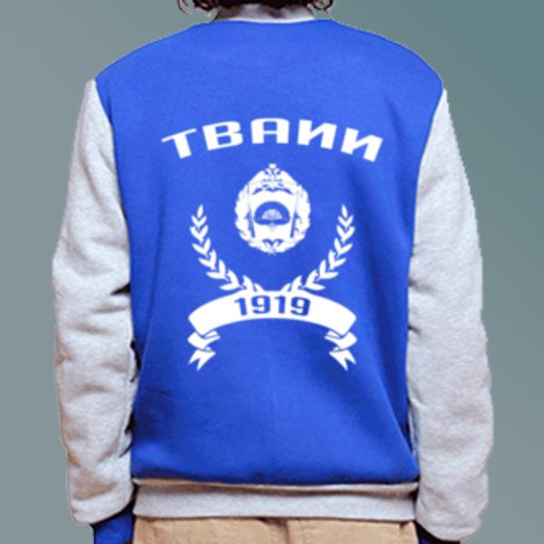 Бомбер с логотипом Тамбовское высшее военное авиационное инженерное училище радиоэлектроники (военный институт) (ТВАИИ)