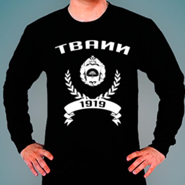 Свитшот с логотипом Тамбовское высшее военное авиационное инженерное училище радиоэлектроники (военный институт) (ТВАИИ)