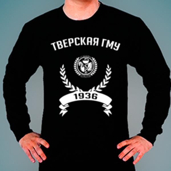 Свитшот с логотипом Тверской государственный медицинский университет (Тверская ГМУ)